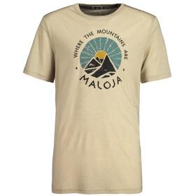 Maloja MailM. Koszulka sportowa z krótkim rękawem Mężczyźni, yak
